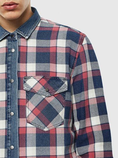 Diesel - D-WEAR-B, Blue Jeans - Denim Shirts - Image 3