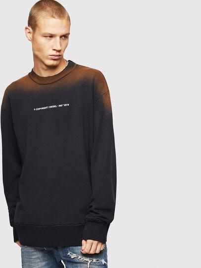 Diesel - S-BAY-SUN, Black - Sweatshirts - Image 1