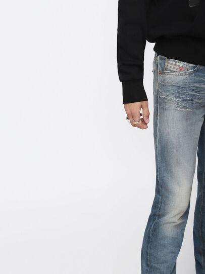 Diesel - Buster 084ZI, Medium Blue - Jeans - Image 3