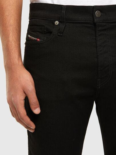 Diesel - D-Istort Skinny Jeans 069EF, Black/Dark Grey - Jeans - Image 3