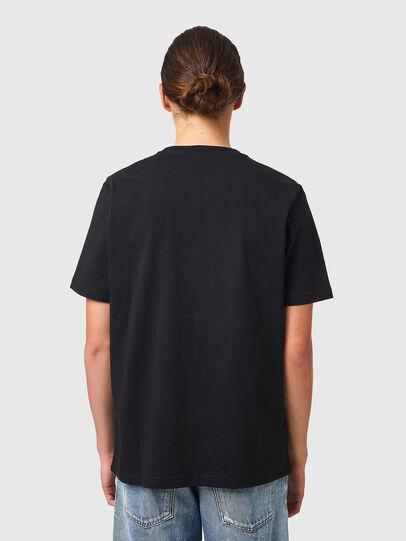 Diesel - T-JUST-B53, Negro - Camisetas - Image 2