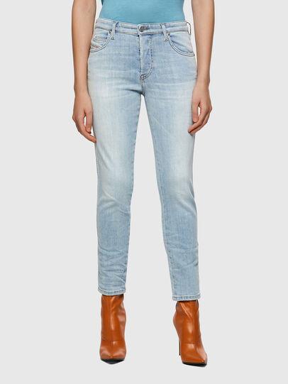 Diesel - BabhilaSlim Jeans 009ZZ, Light Blue - Jeans - Image 1