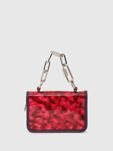 Small wallet in leopard PVC