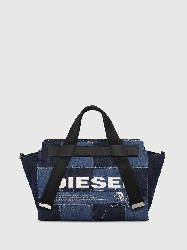 F-CAORLY SATCHEL M, Blue - Satchels and Handbags