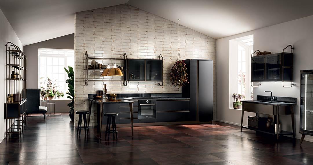 Diesel Open Workshop Kitchen