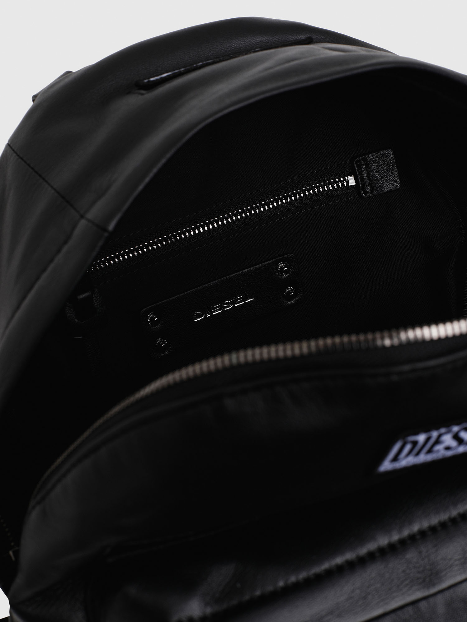 Diesel - LE-ZIPPER BACKPACK,  - Backpacks - Image 4