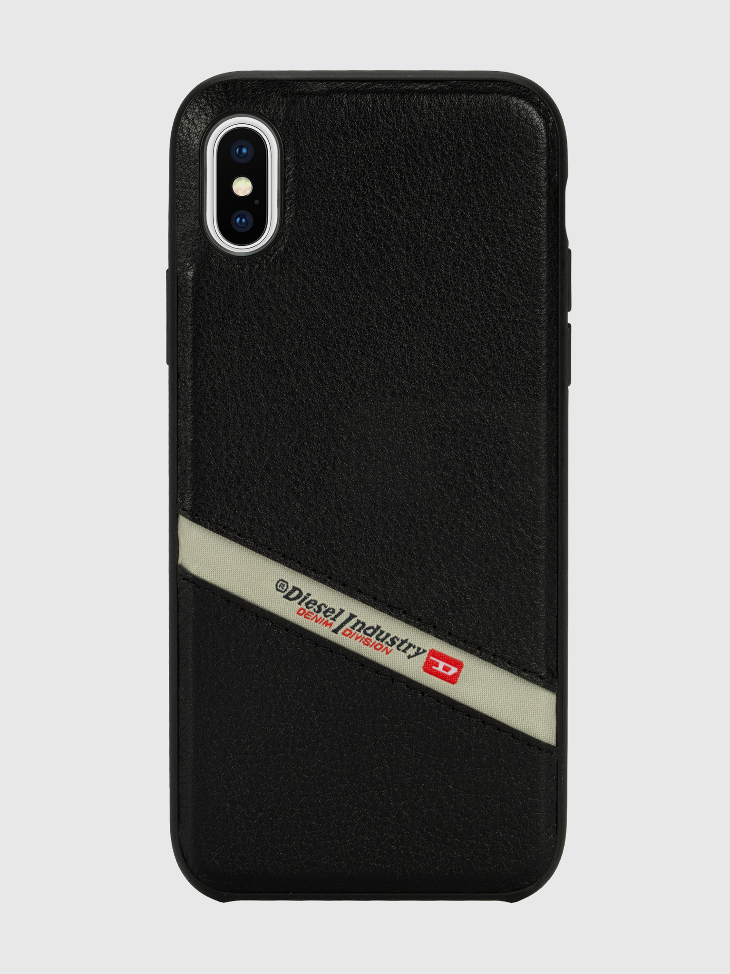 Diesel - DIESEL LEATHER CO-MOLD CASE FOR IPHONE XS MAX,  - Cases - Image 2