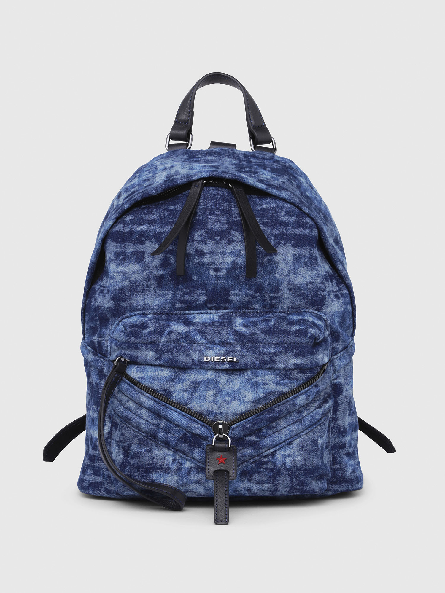 Diesel - LE-ZIPPER BACKPACK,  - Backpacks - Image 1
