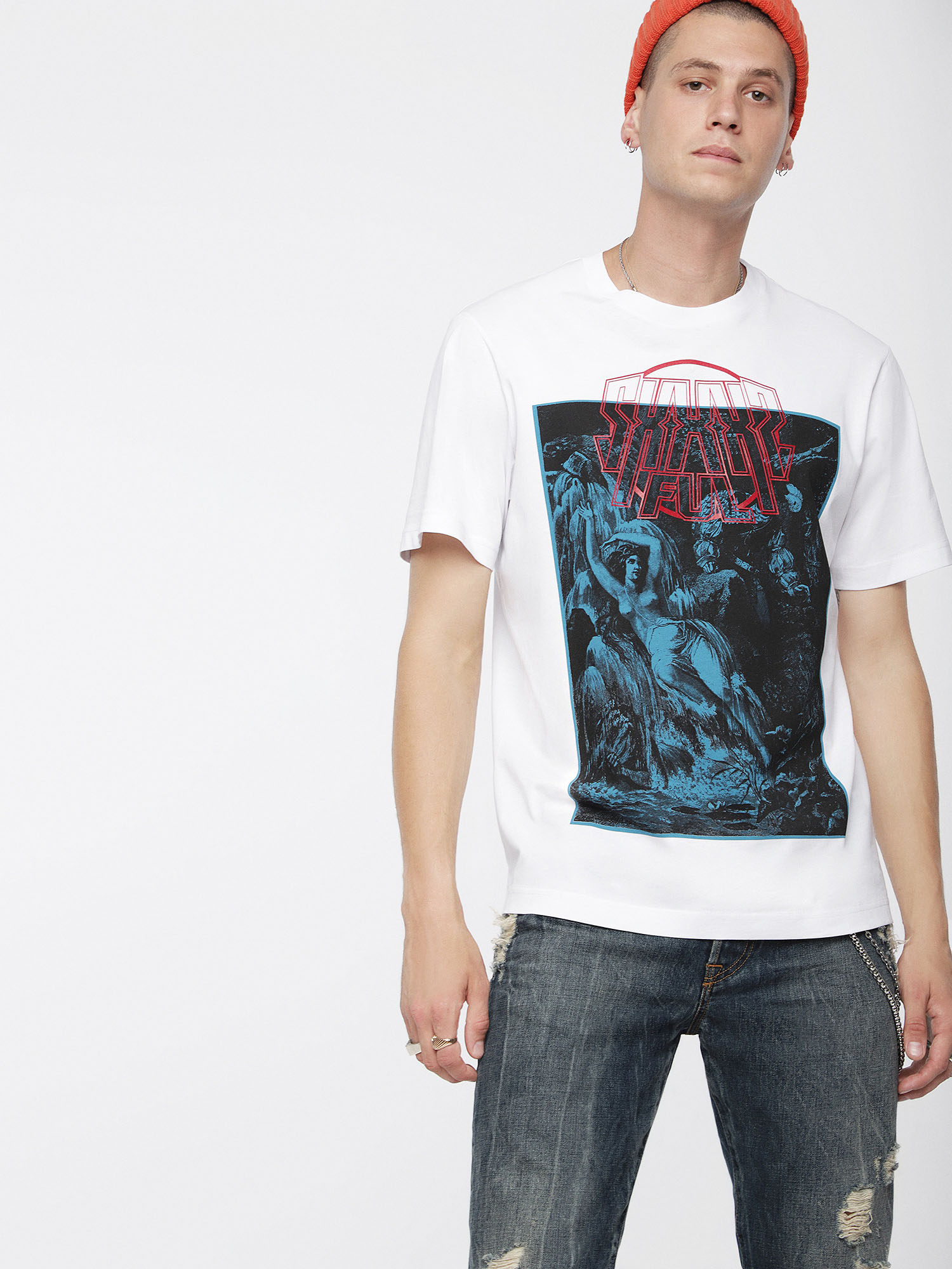 Diesel - T-JUST-XQ,  - T-Shirts - Image 1