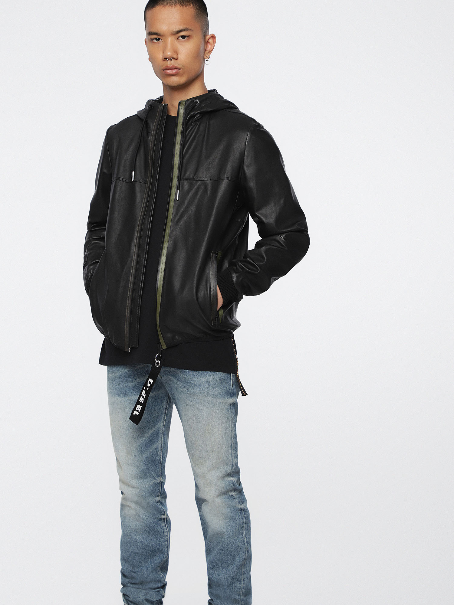 Diesel - L-TECH,  - Leather jackets - Image 1