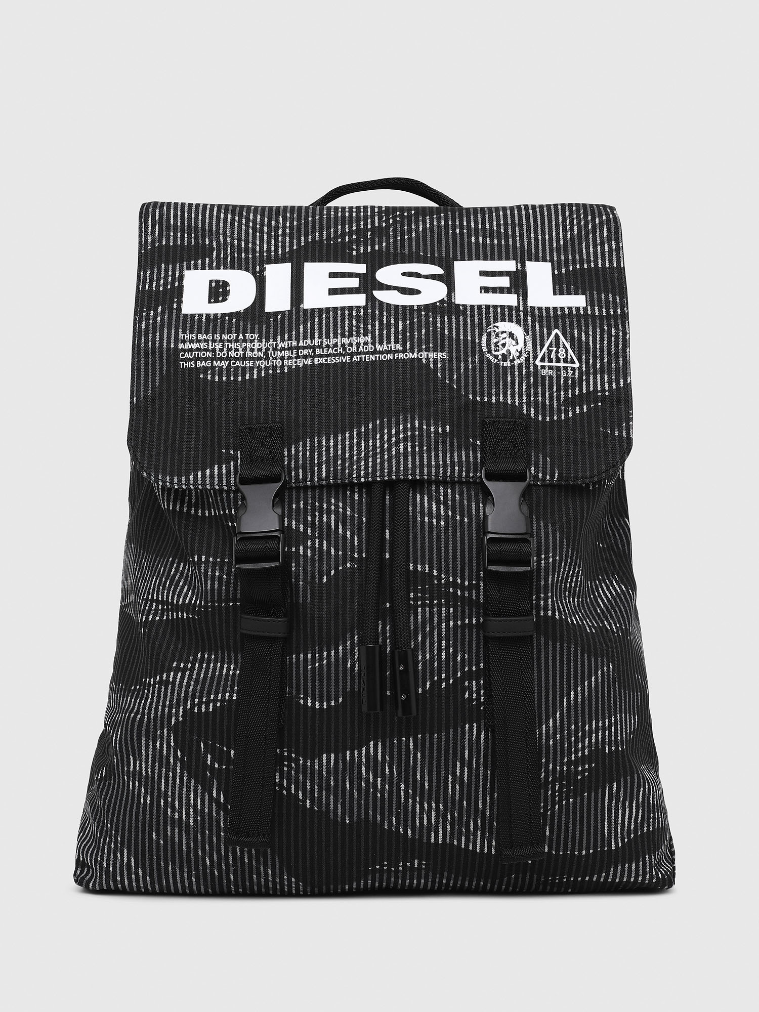 Diesel Backpacks P2893 - Black