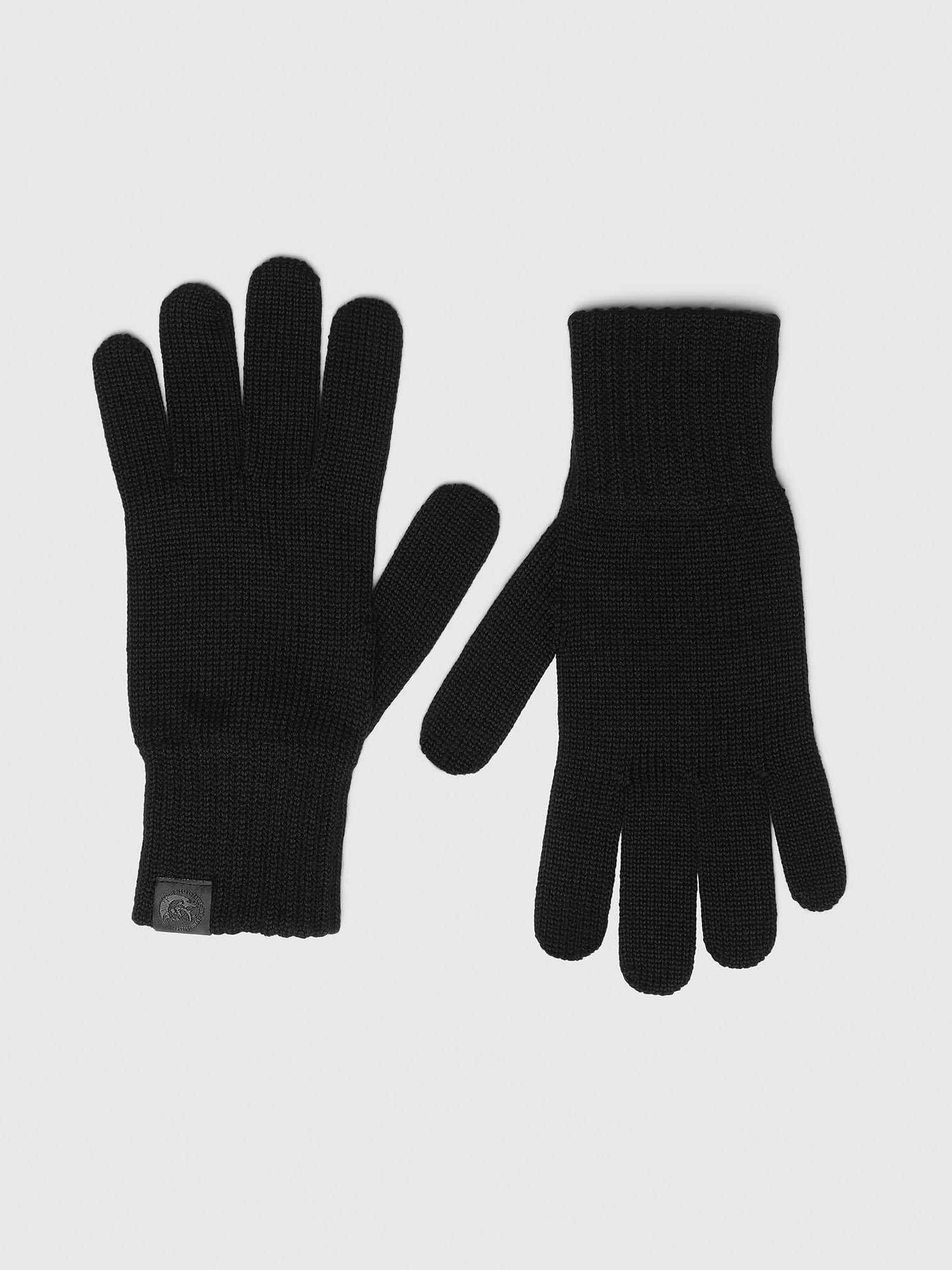 Diesel Gloves 0SAWX - Black - 02