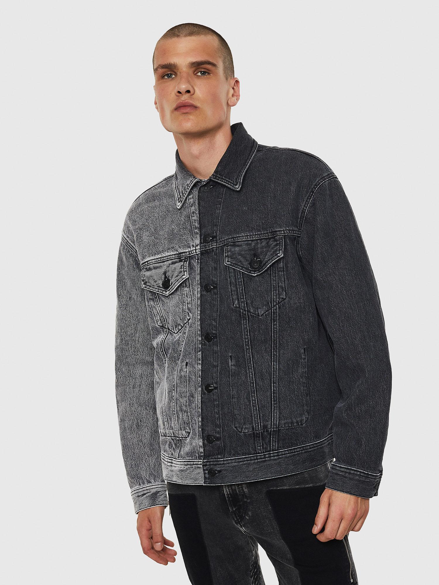 Diesel Denim Jackets 0090U - Black - L