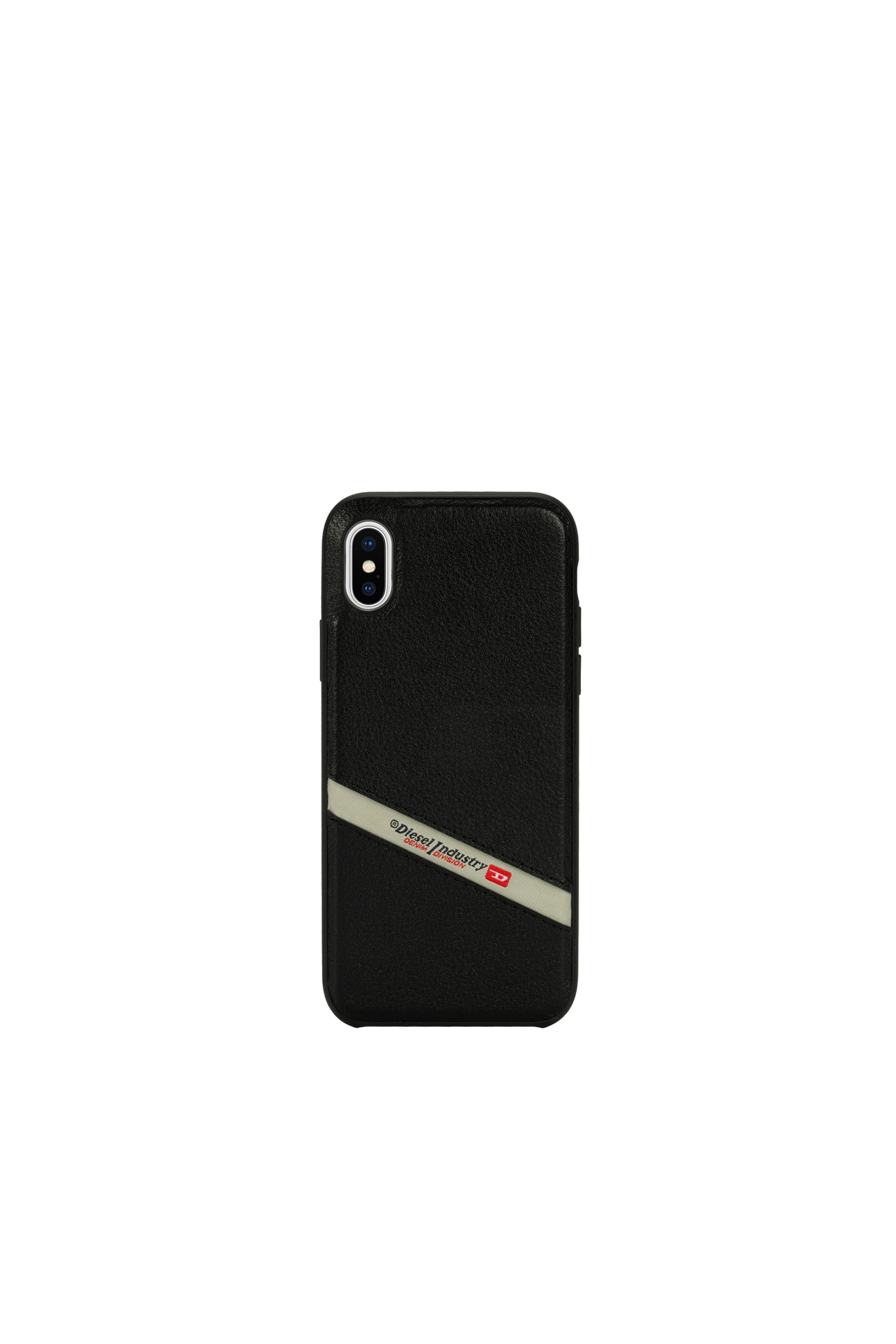 Diesel - DIESEL LEATHER CO-MOLD CASE FOR IPHONE XS MAX,  - Cases - Image 4