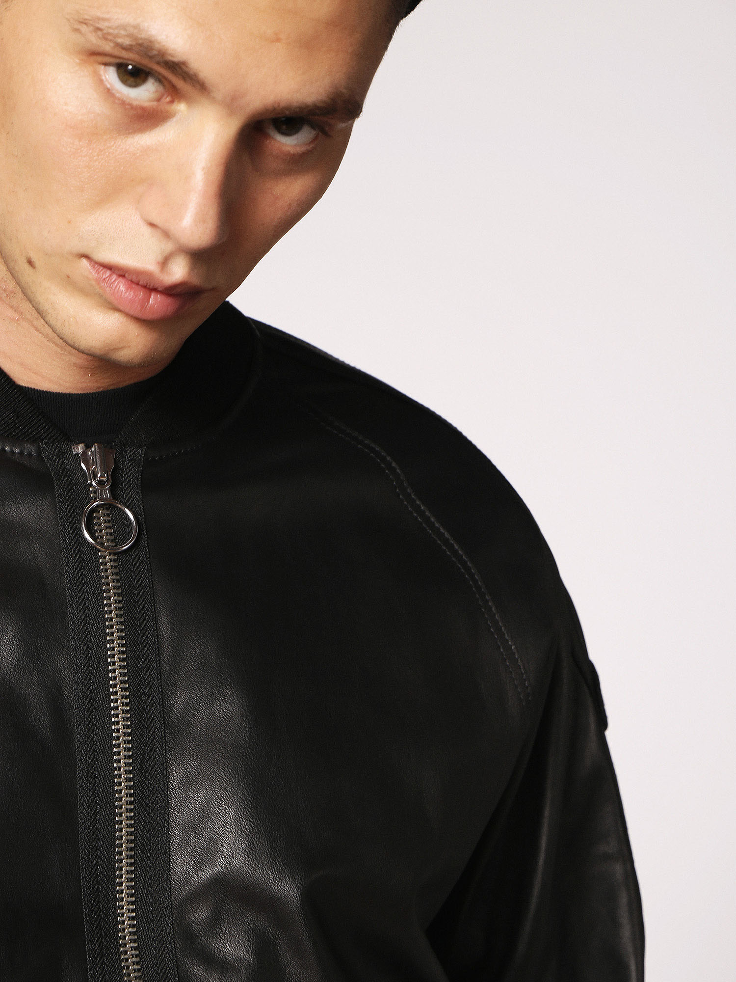Diesel - L-PINS,  - Leather jackets - Image 4