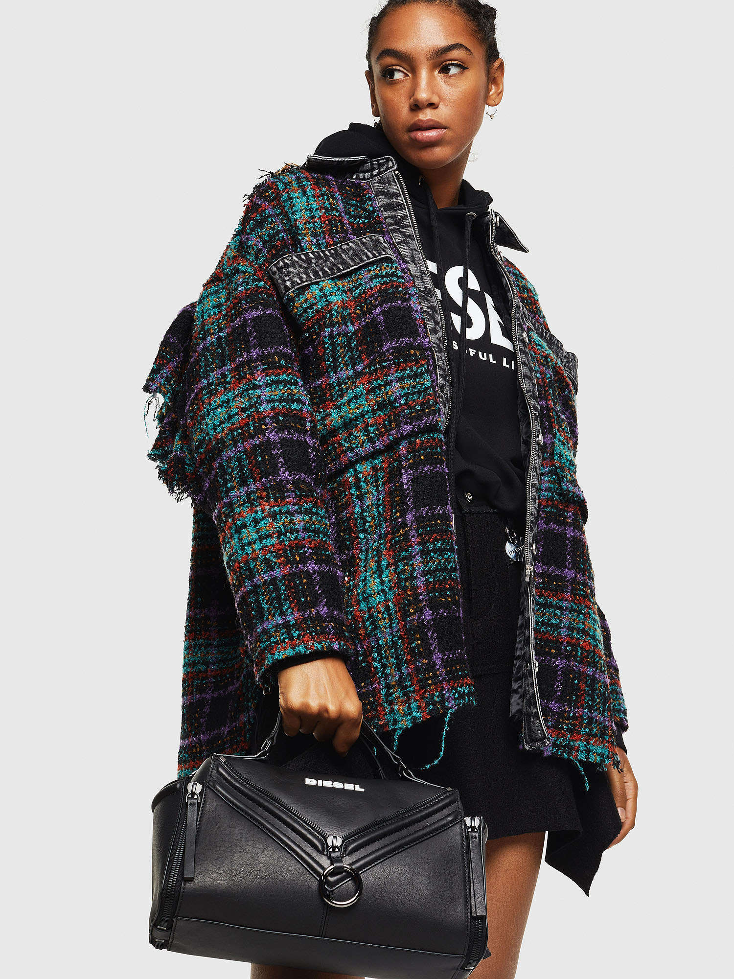 Diesel - LE-ZIPPER SATCHEL,  - Satchels and Handbags - Image 6