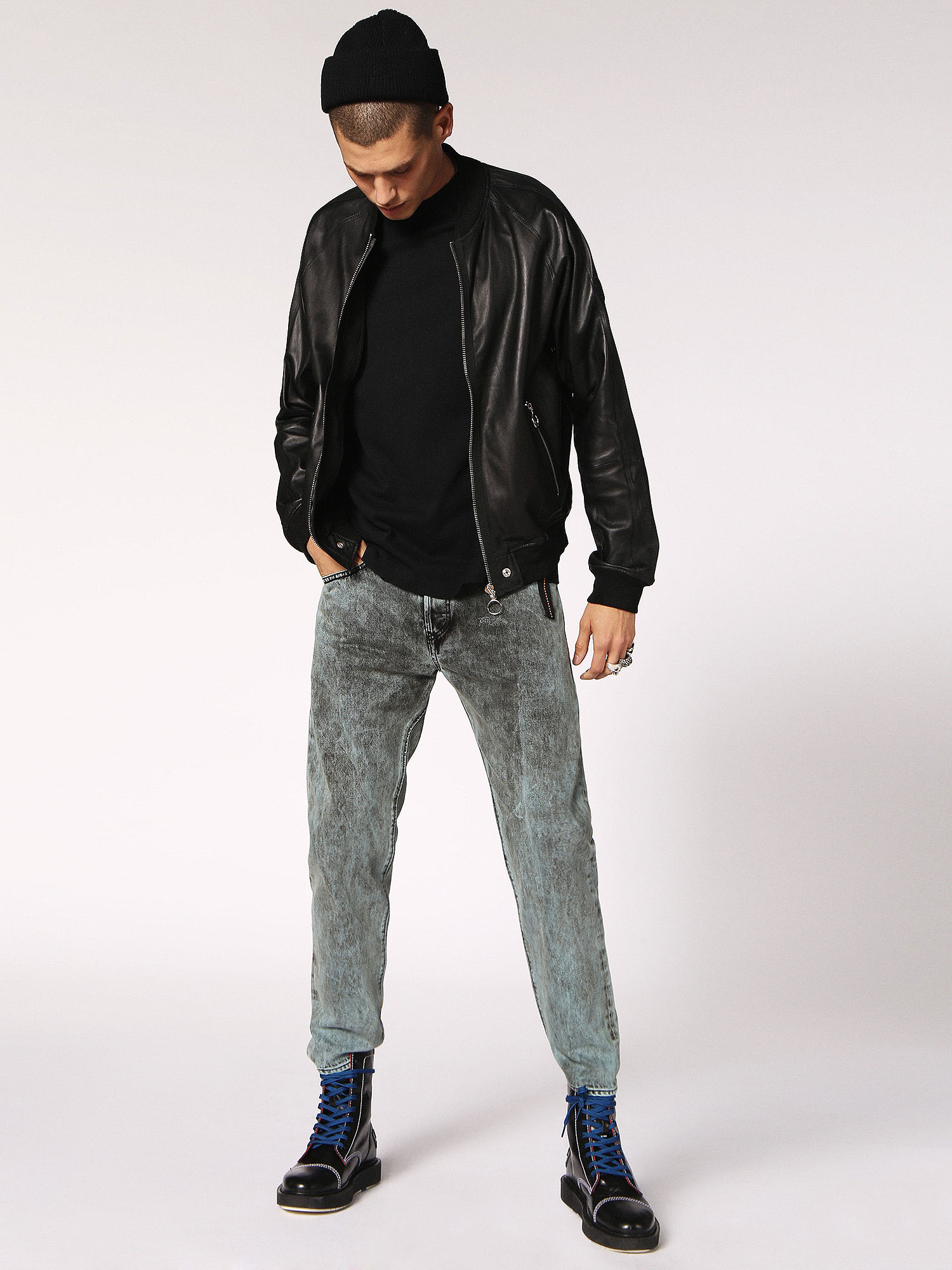 Diesel - L-PINS,  - Leather jackets - Image 6