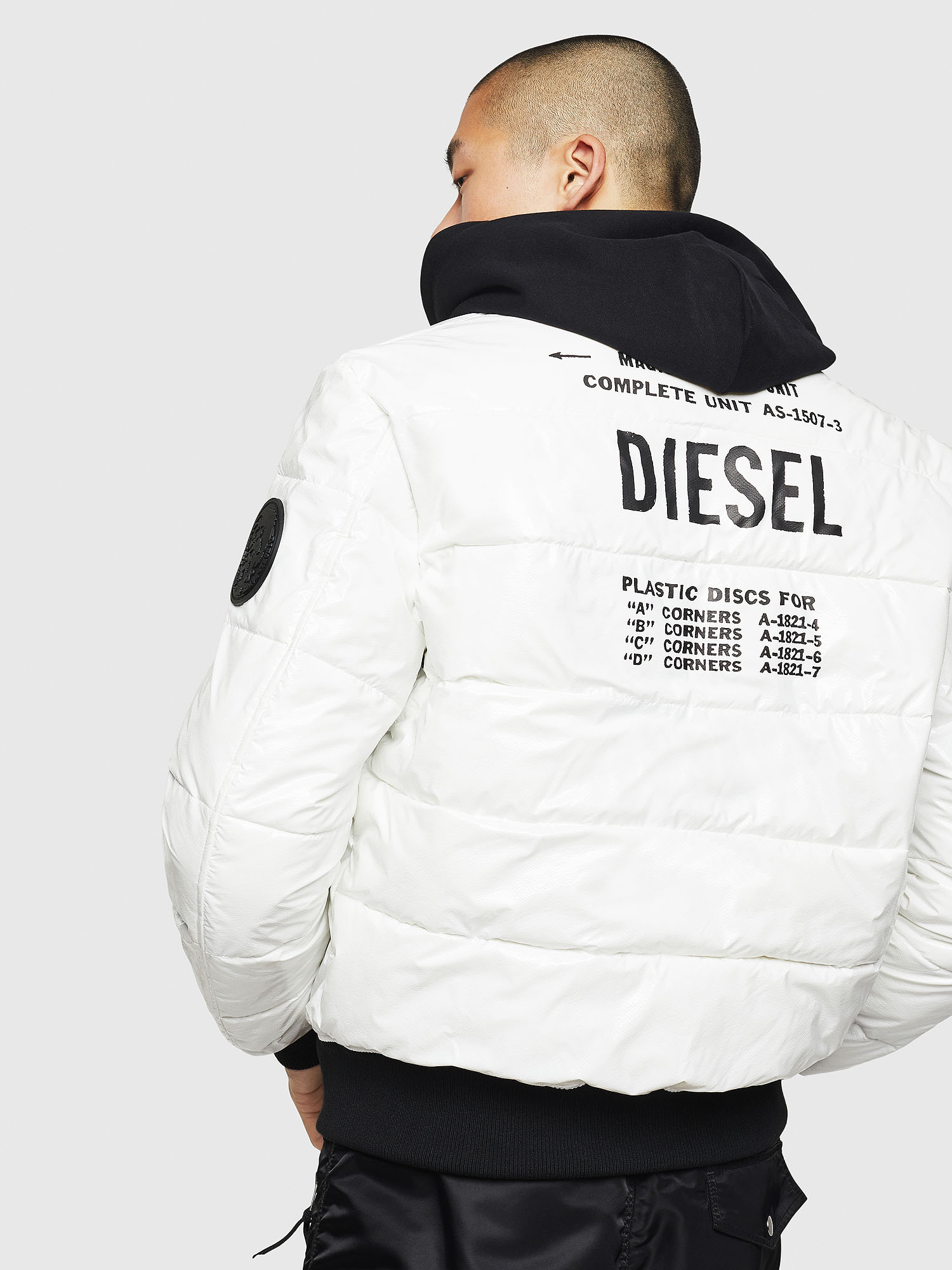 Diesel - W-ON,  - Winter Jackets - Image 2