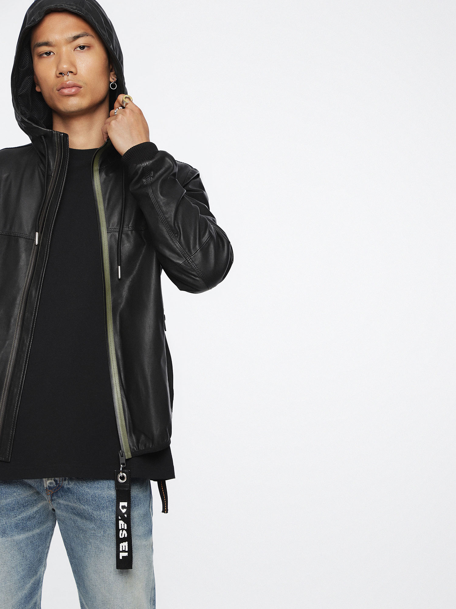 Diesel - L-TECH,  - Leather jackets - Image 3
