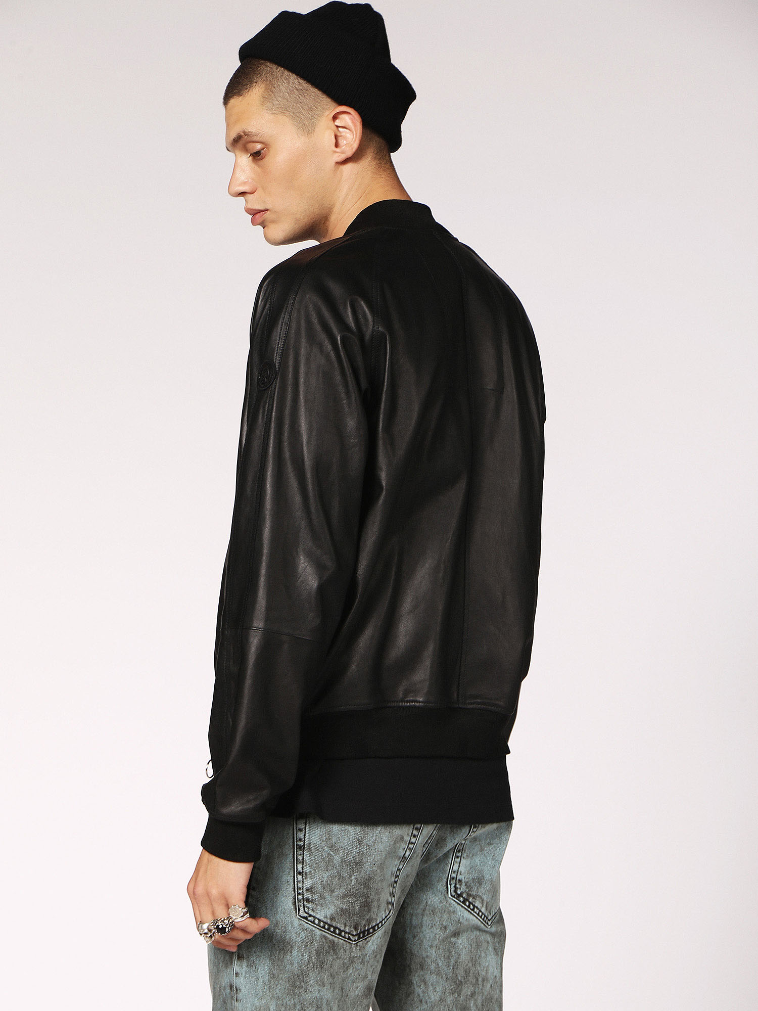 Diesel - L-PINS,  - Leather jackets - Image 2