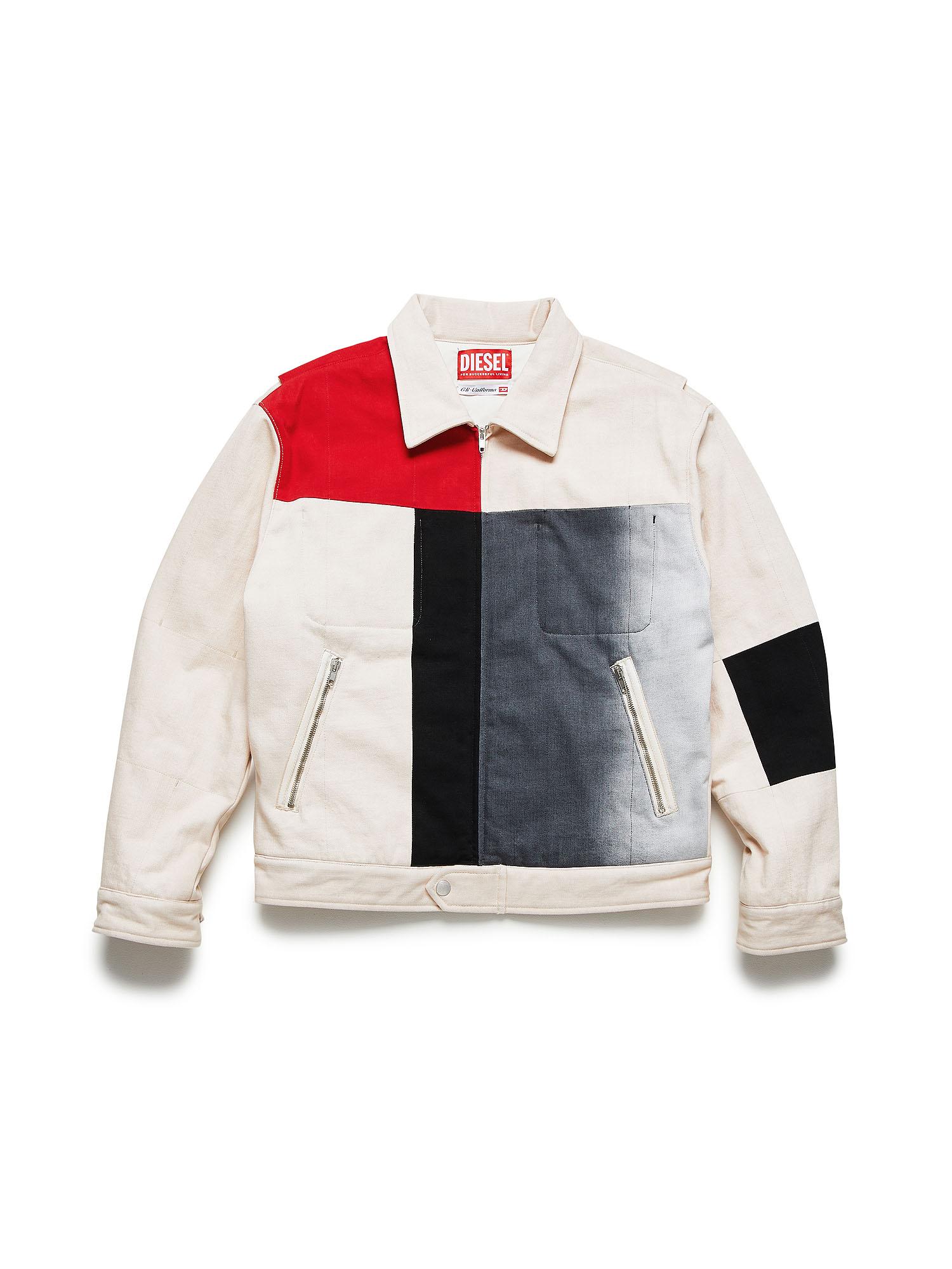 Diesel Denim Jackets 003Y8 - White - L