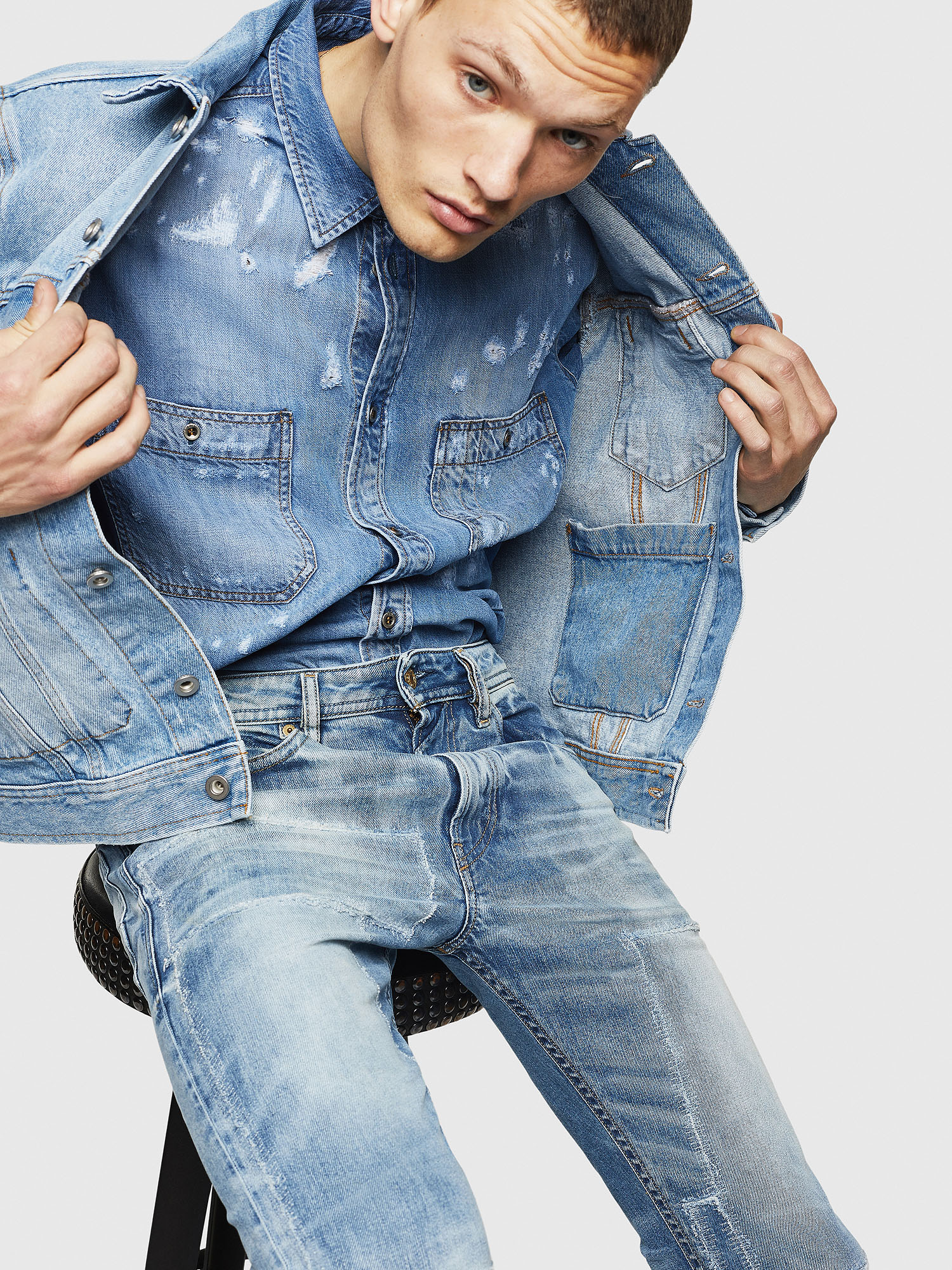 Diesel - Thommer 0092F,  - Jeans - Image 4