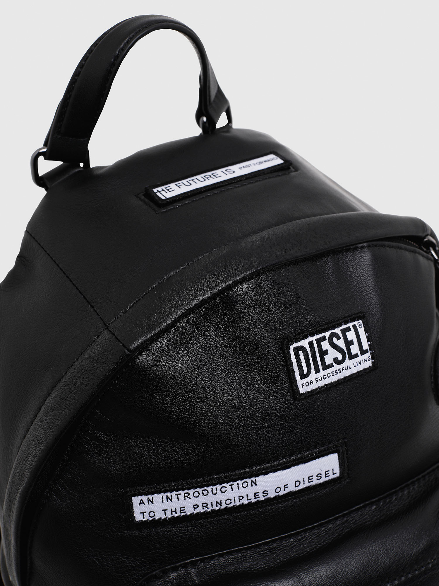 Diesel - LE-ZIPPER BACKPACK,  - Backpacks - Image 3