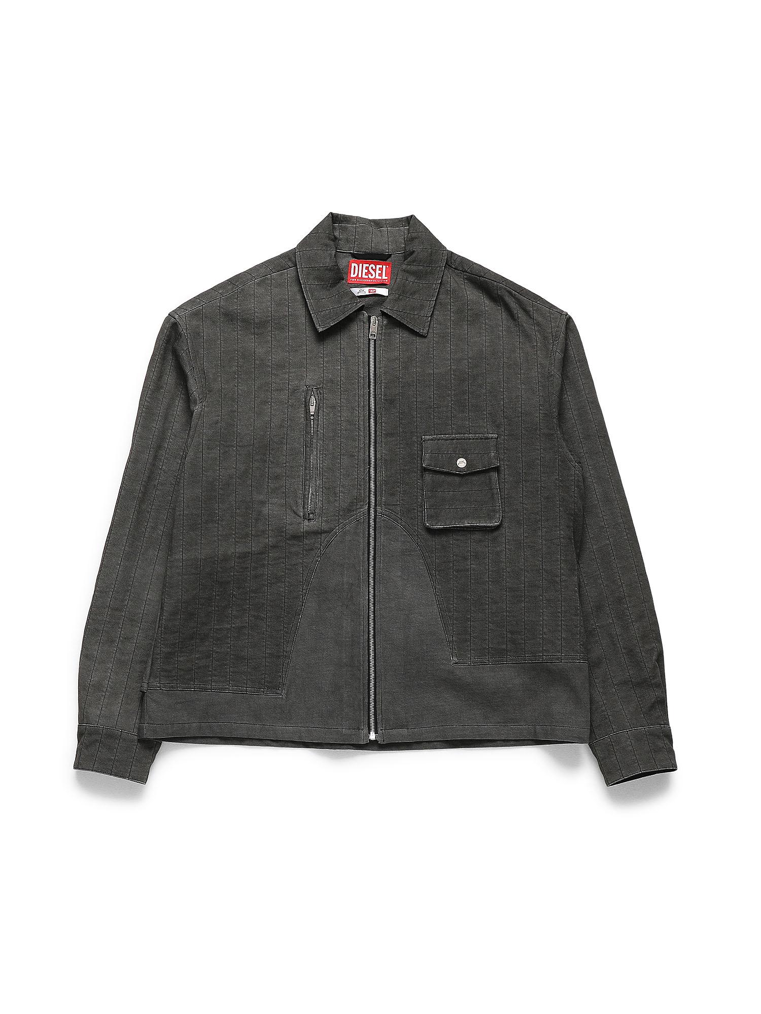 Diesel Denim Shirts 0GAXS - Black - L