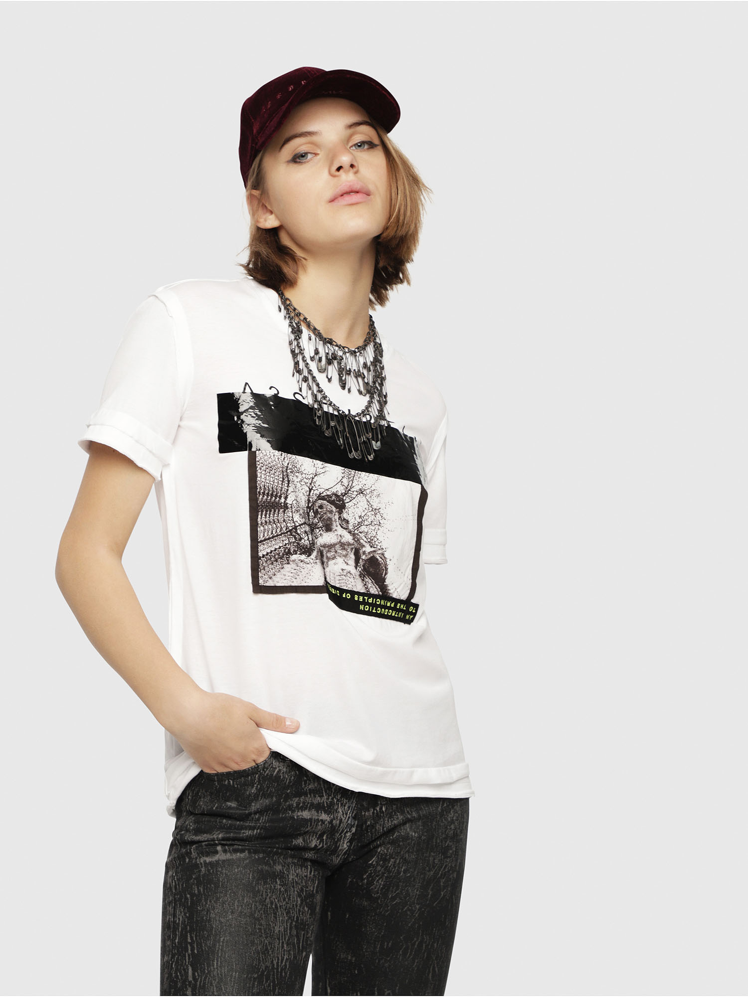 Diesel - T-SILY-WB,  - T-Shirts - Image 1