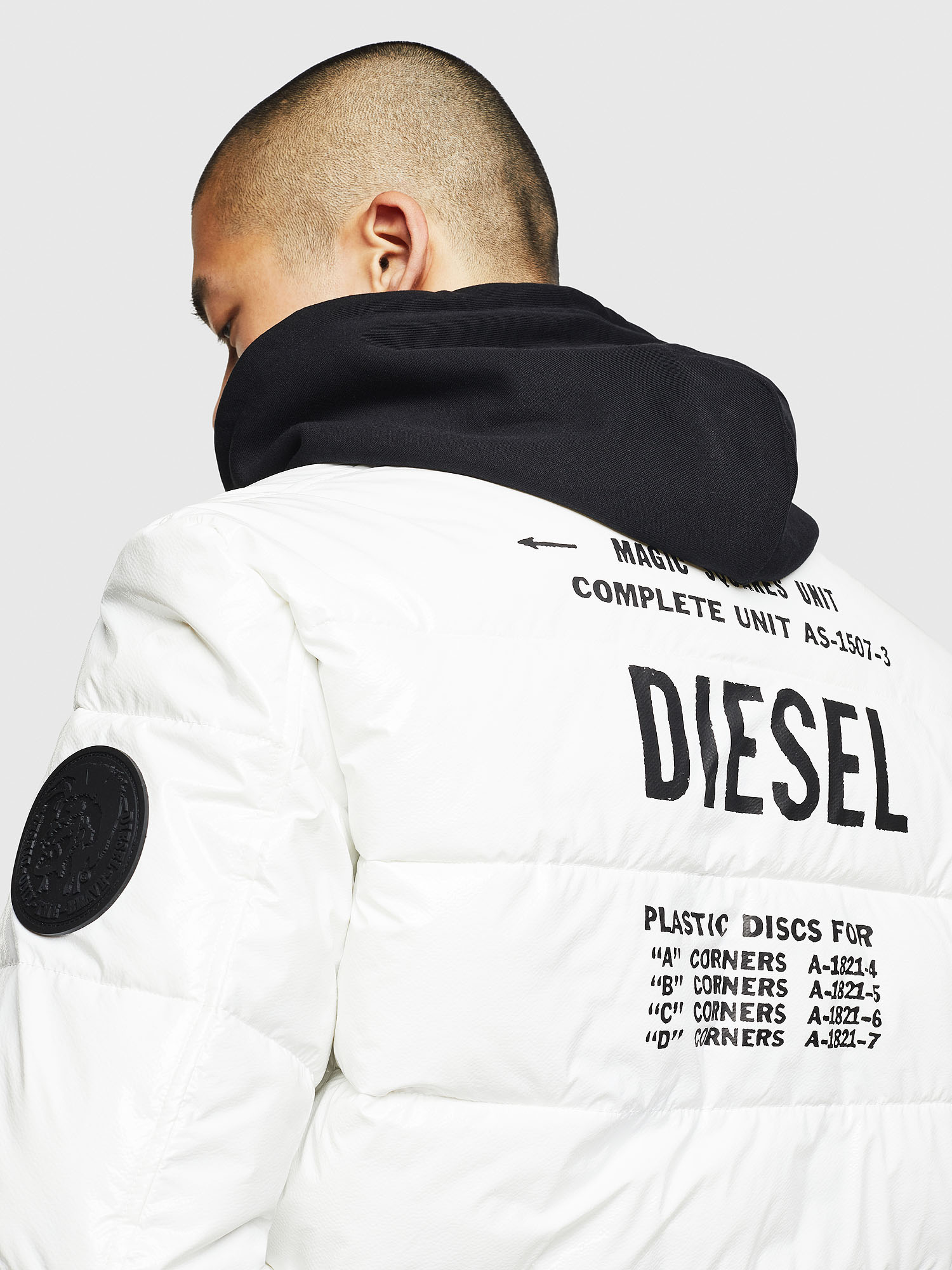 Diesel - W-ON,  - Winter Jackets - Image 5