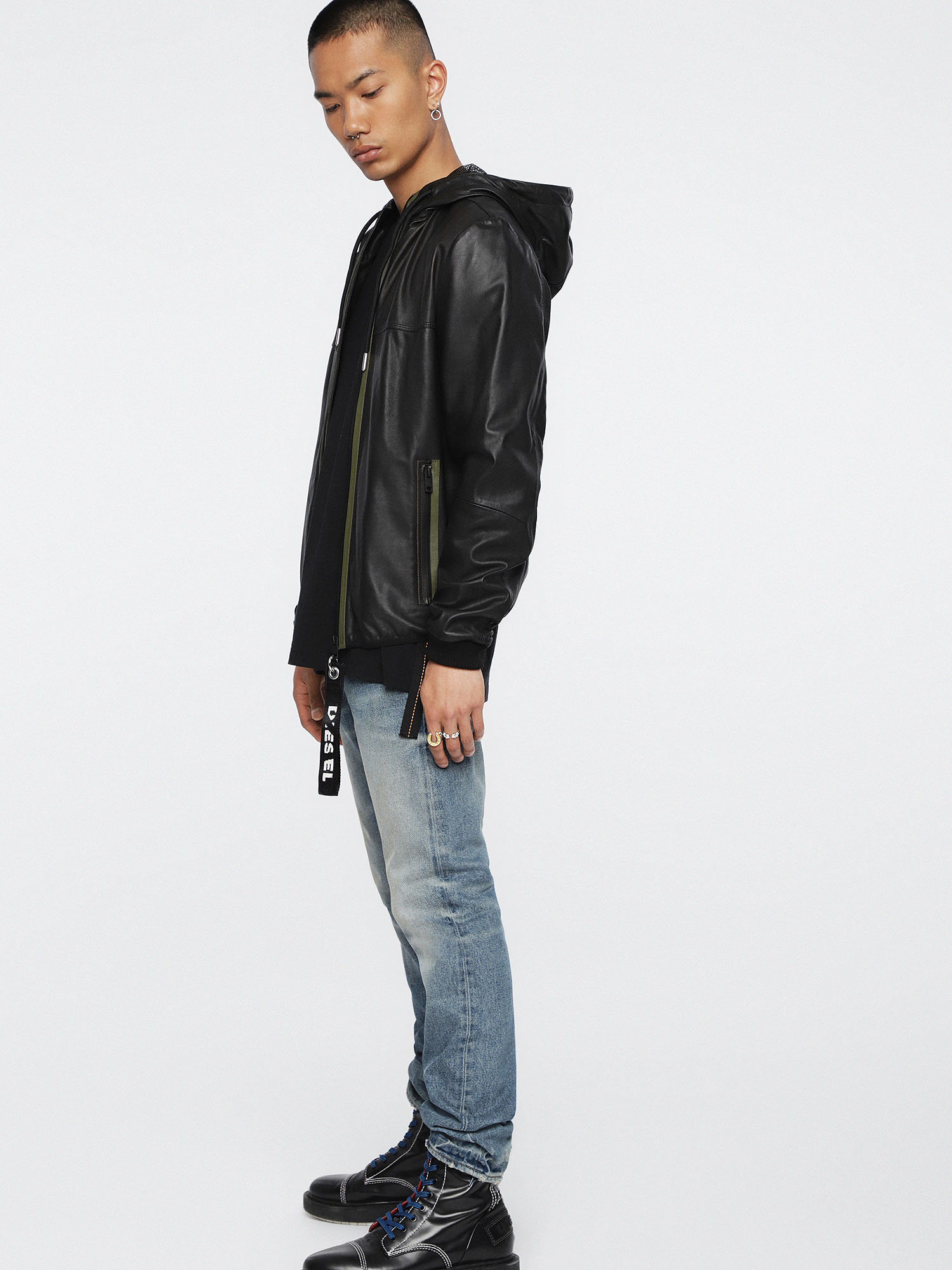 Diesel - L-TECH,  - Leather jackets - Image 6